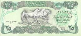IRAK 25 DINARS 1982 UNC P 72
