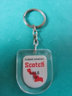 Porte - Clefs Publicitaire   Ruban Adhésif Scotch Lille 59 Nord Vintage Keychain - Key-rings