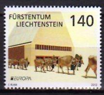 CEPT 2012 Liechtenstein - 1 V Paper MNH** - 2012