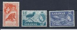 140015058  SARAWAK  YVERT  Nº  190/192/196  **/MNH - Sarawak (...-1963)