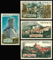 851 à 854  PROTECTION DES MONUMENTS HISTORIQUES  1971 - Ongebruikt