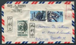 1960s Taiwan Formosa China Catholic Mission Cover - Bruxelles Belgium - 1945-... República De China