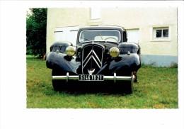 VOITURE Citroen Traction Avant à Gazogène - 11 BL - GOHIN POULENC 1942 - Voitures De Tourisme