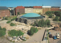 Ak HELSINKI 1986 - Temppeliaukio Kirche, Ak Im Format 15 X 10,5 Cm - Finnland