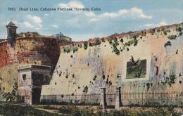 HABANA (Cuba) 1930? - Dead Line, Cabanas Fortress - Kuba