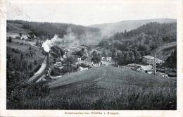 ZÖBLITZ - Umgebung Von Zöblitz Im Erzgeb. - Kniebreche Bei Zöblitz, Bahnpost Gel.1928 - Zoeblitz
