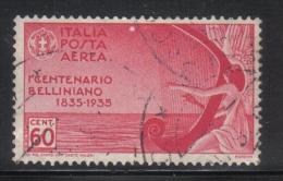 3RG725 - REGNO 1935 , Posta Aerea 60 Cent N. 92  . Bellini - 1900-44 Vittorio Emanuele III