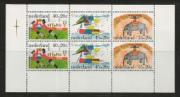 NEDERLAND, 1976, Mint  Hinged Stamp(s) Block Nr.15, Child Welfare, NVPH Nr. 1107,  #6845 - Blocks & Sheetlets