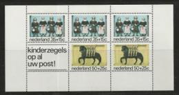 NEDERLAND, 1975, Mint  Never Hinged Stamp(s) Block Nr.14, Child Welfare, NVPH Nr. 1083,  #6846 - Blocks & Sheetlets