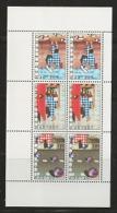 NEDERLAND, 1977, Mint  Never Hinged Stamp(s) Block Nr.17, Child Welfare, NVPH Nr. 1150,  #6848 - Blocks & Sheetlets
