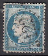 1870 CERES 20 C. BLEU N.7 YVERT