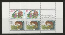 NEDERLAND, 1980, Mint  Never Hinged Stamp(s) Block Nr 21, Child Welfare, NVPH Nr. 1214,  #6851 - Blocks & Sheetlets