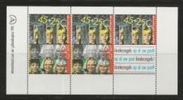 NEDERLAND, 1981, Mint  Never Hinged Stamp(s) Block Nr 23, Child Welfare., NVPH Nr. 1236,  #6853 - Blocks & Sheetlets