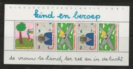 NEDERLAND, 1987, Mint  Never Hinged Stamp(s) Block Nr 30, Child Welfare. NVPH Nr. 1390,  #6860 - Blocks & Sheetlets