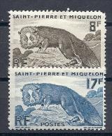 140015093  ST  PIERRE ET  MIQUELON  YVERT  Nº  345/6  */MH - Nuevos