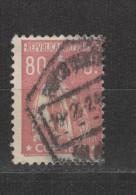 Yvert 251 Oblitéré Dentelé 12 X 11 1/2 - Usado