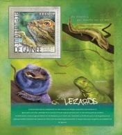 gu14224b Guinea 2014 Lizards s/s