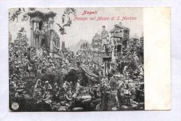 NAPOLI - INIZIN 900 - PRESEPE NEL MUSEO DI S.MARTINO - Napoli