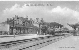 21 -  Les Laumes Alésia - La Gare - écrite - 1915 - France