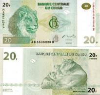 CONGO DR   20 Francs 2003  **UNC** - Democratische Republiek Congo & Zaire