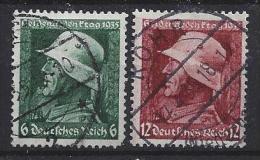 Germany  1935  Heldengedenktag (o) Mi. 569x-570x - Germany
