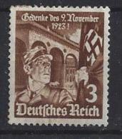 Germany  1935  12.Jahrestag Hitlerputsches (o) Mi. 598 - Germany