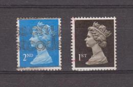 1989 - Serie Courante / Elizabeth II  Mi No 1214/1215 Et Yv No 1392/1393 - Machin-Ausgaben