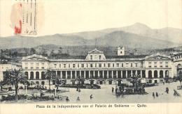 URUGUAY PLAZA DE LA INDEPENDENCIA CON EL PALACIO DE GOBIERNO QUITO - Uruguay