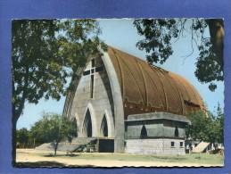 Z - Tchad - FORT LAMY - La cath�drale en construction - cachet poste Bongor
