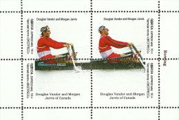 Fantasy Label Rowing Aviron Rudern Canada Denmark Zealand Champions 4 Blocks - Roeisport
