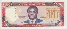 Liberia 50 Dollars 2008  Pick 29 UNC - Liberia