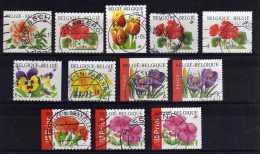 Belgium - 1997/2004 - Flowers (Self Adhesive) - Used - Oblitérés