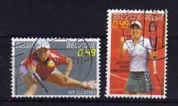 Belgium - 2003 - Belgian Tennis Champions - Used - Belgique