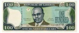 Liberia 100 Dollars 2008  Pick 30 UNC - Liberia