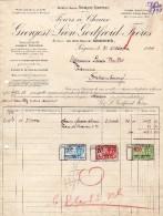 Soignies. Fours  Chaux. Georges Et Léon Godfroid Frères. **** - 1900 – 1949