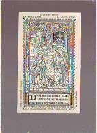 Image Pieuse - Imprimatur Ev De Tournai 1889 - L ANNONCIATION - Images Religieuses