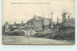 TEMPLEUX LE GUERARD  - Les Ruines Du Cimetière Et De L'église. - Ohne Zuordnung