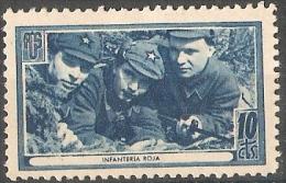 De Amigos De La Union Soviética Nr.1700/ 636 / Bl. D - Spanish Civil War Labels