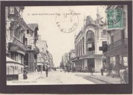 Saint-Nazaire - Rue De Nantes   Pharmacie,  Compagnie  Singer, Nouvelles Galeries - Saint Nazaire