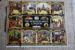 Affiche Cooper Business man's London Underground R��dition