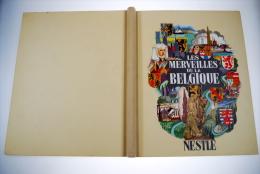 Les Merveilles De La Belgique Chromos Nestlé COMPLET TRES BON ETAT RARE Marie Gevers Complet Du Jeu De L´oie - Nestlé
