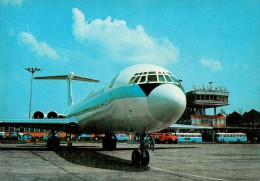 AVIATION CIVILE : LOT / POLISH AIRLINES - ANNÉE / YEAR : 1974 - AVION ILYUSHIN IL-62 à VARSOVIE / WARSZAWA (q-578) - 1946-....: Moderne