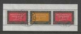 NEDERLAND, 1966, Used Stamp(s) Block Nr. 4,refusees, NVPH Nr. 858  #7008 - Blocks & Sheetlets