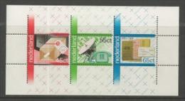 NEDERLAND, 1981, UMint Never Hinged, Stamp(s) Block Nr. 22, 100 Years PTT, NVPH Nr. 1223  #6852 - Blocks & Sheetlets