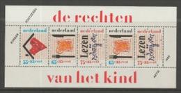 NEDERLAND, 1989, Mint Never Hinged, Stamp(s) Block Nr.33, Child Welfare, NVPH Nr. 1438  #6865 - Blocks & Sheetlets