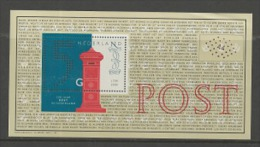 NEDERLAND, 1999, Mint Never Hinged, Stamp(s) Block ,200 Years Post, NVPH Nr. 1841  #7416 - Blocks & Sheetlets