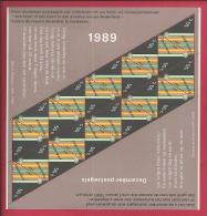 NEDERLAND, 1989, Mint Never Hinged, Stamp(s)sheet  . Christmas, NVPH Nr. 1439  #6868 - Blocks & Sheetlets