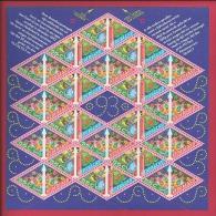 NEDERLAND, 1993, Mint Never Hinged, Stamp(s)sheet  . Christmas, NVPH Nr. 1579-80  F2485 - Blocks & Sheetlets