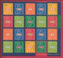 NEDERLAND, 1997 Mint Never Hinged, Stamp(s)sheet  . Christmas, NVPH Nr. 1740-1745 F2485 - Blocks & Sheetlets
