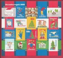 NEDERLAND, 1999, Mint Never Hinged, Stamp(s)sheet  . Christmas, NVPH Nr. 1856-1875 F2487 - Blocks & Sheetlets